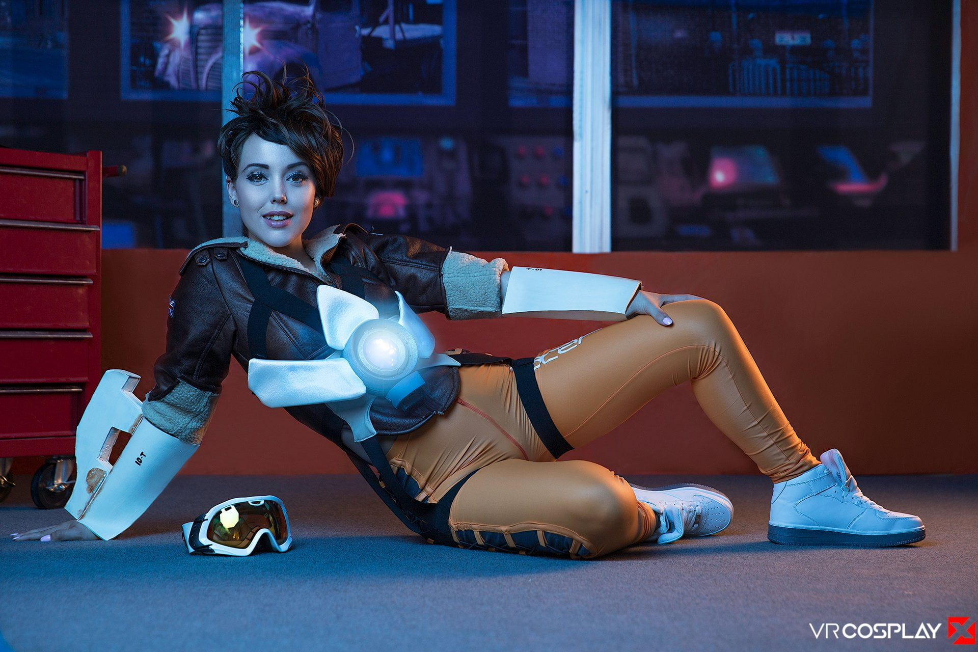 Overwatch cosplay porno