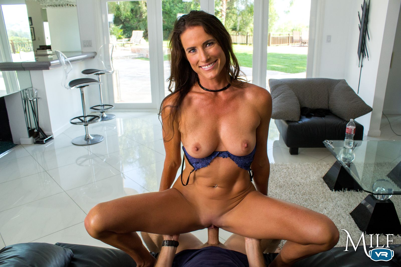 The hot brunette MILF Sofie Marie is only happy when she has a mouthful of  rock-hard cock… can you help her out?