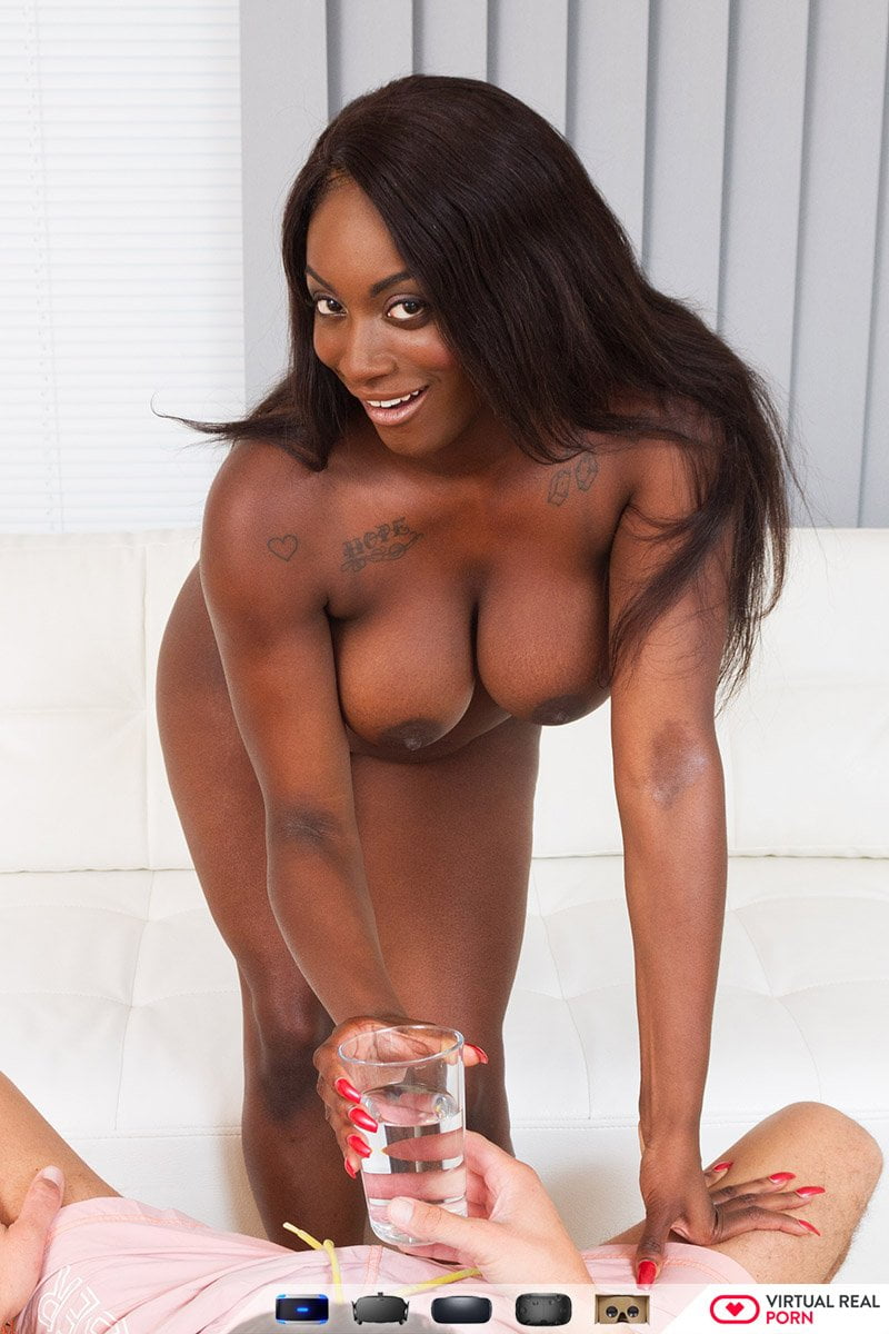 ebony interracial porn