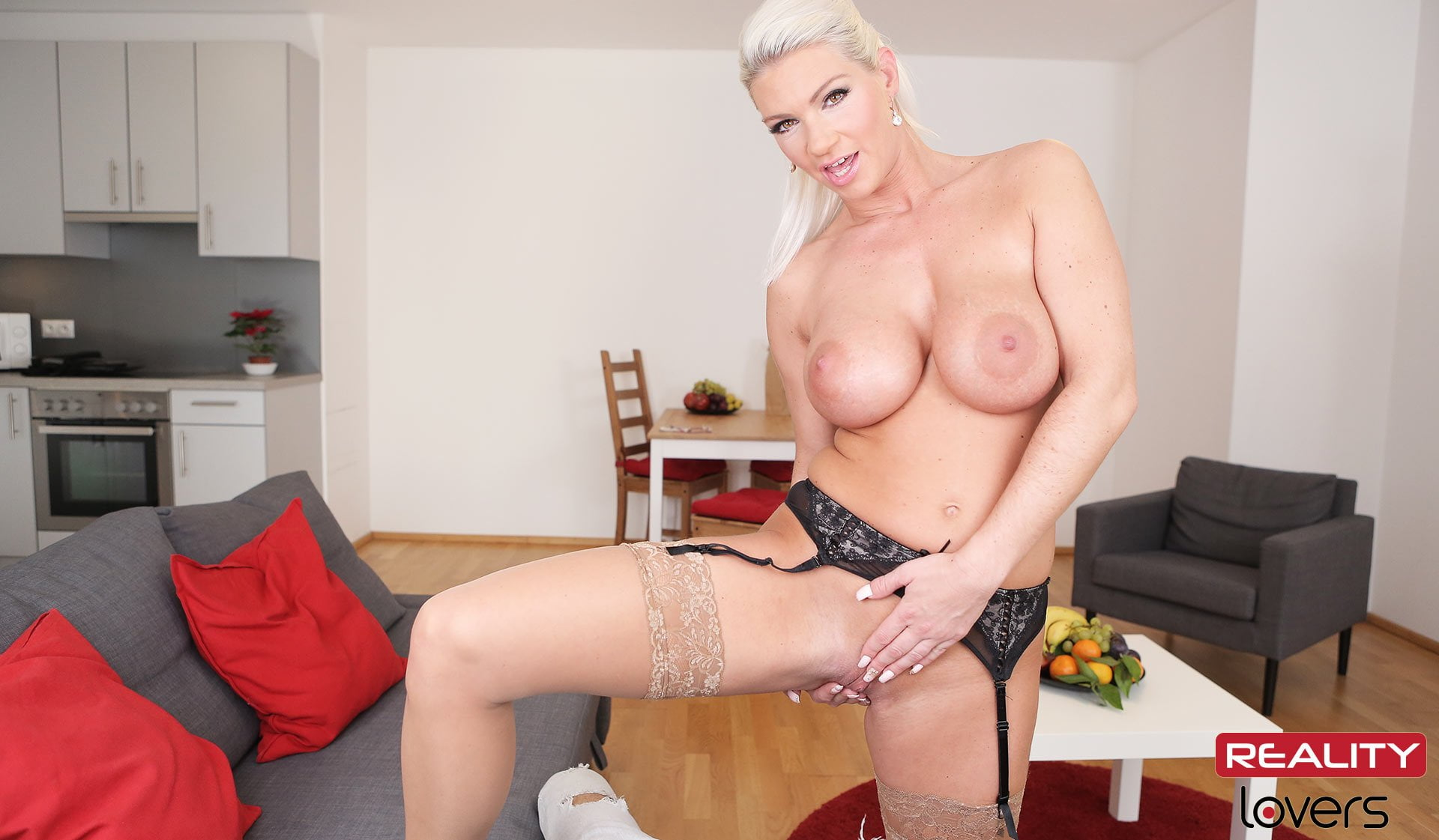 German Milf Sandy ass fuck
